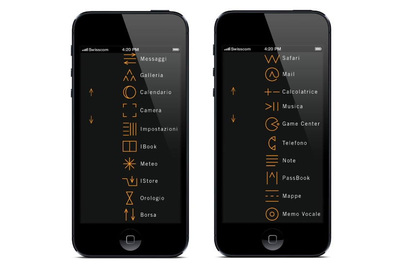iPhone, iPod, restyling, apple, cv, comunicazione visiva, Felix Humm, Grafica