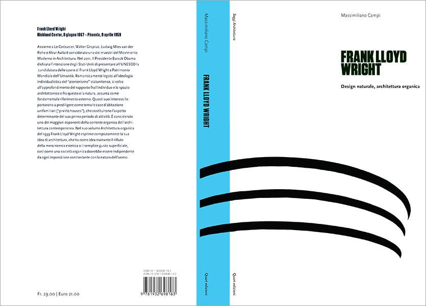 Copertina aperta, Frank Lloyd Wright