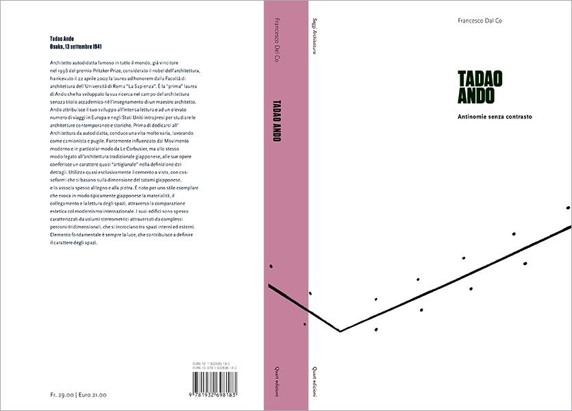 Copertina aperta, Tadao Ando