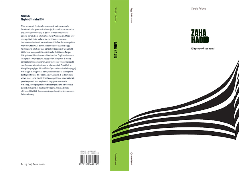 Copertina aperta, Zaha Hadid