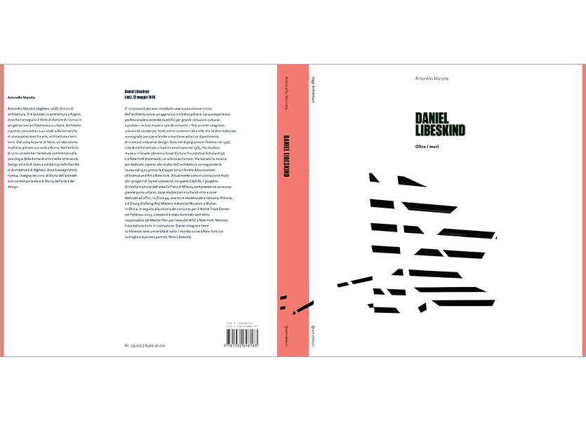 Copertina aperta con bandelle, Daniel Libeskind