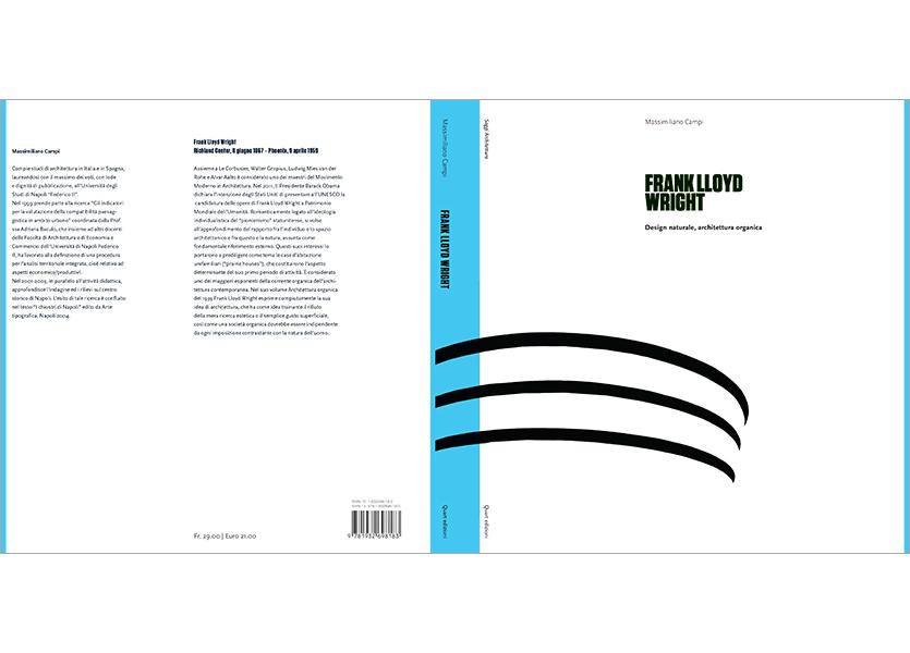 Copertina aperta con bandelle, Frank Lloyd Wright