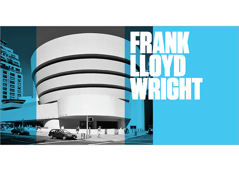 Interno copertina, Frank Lloyd Wright