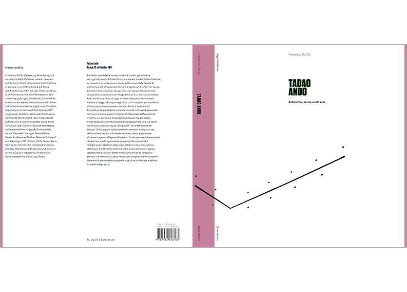 Copertina aperta con bandelle, Tadao Ando