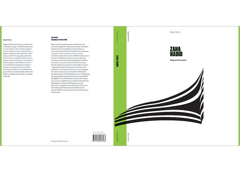 Copertina aperta con bandelle, Zaha Hadid
