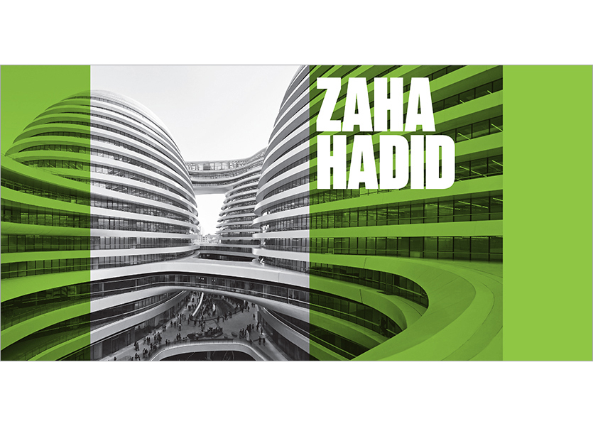 Interno copertina, Zaha Hadid