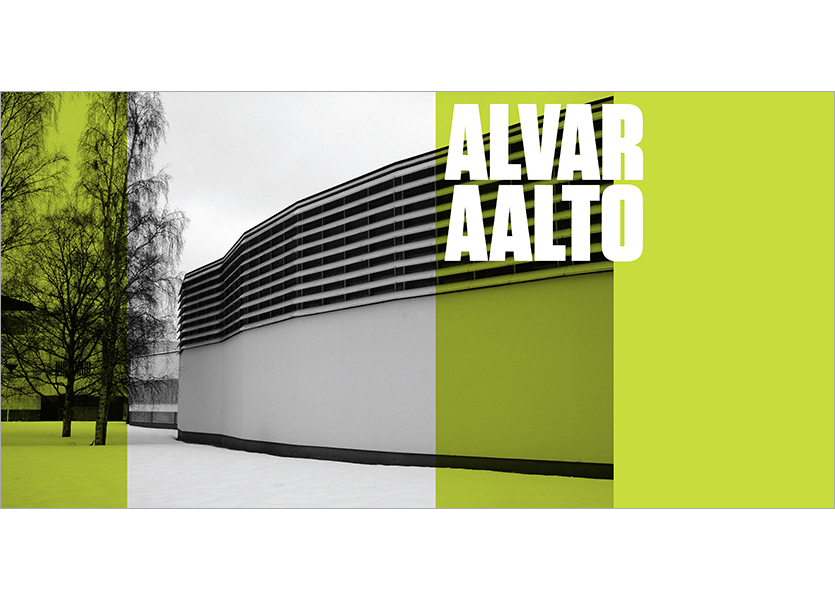 Interno copertina, Alvar AAlto
