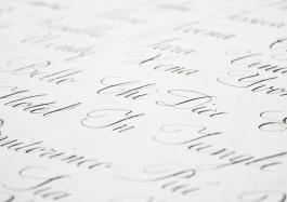 Il corsivo inglese - Diario